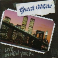 [Great White Live in New York Album Cover]