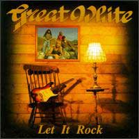 Great White Let It Rock Album Cover