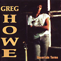 [Greg Howe Uncertain Terms Album Cover]