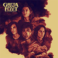 [Greta Van Fleet Black Smoke Rising EP Album Cover]