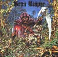 [Grim Reaper Rock You to Hell Album Cover]