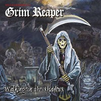 [Grim Reaper Walking In The Shadows Album Cover]