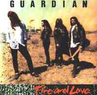 [Guardian Fire and Love Album Cover]