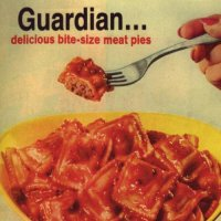 [Guardian Delicious Bite-Size Meat Pies Album Cover]