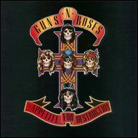 Guns N' Roses Appetite for Destruction Album Cover