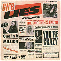 [Guns N' Roses GN'R Lies Album Cover]