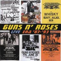 [Guns N' Roses Live Era '87 - '93 Album Cover]