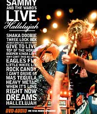 Sammy Hagar Live Hallelujah (DVD-Audio) Album Cover