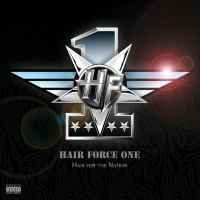 [Hair Force One Hair For the Nation Album Cover]
