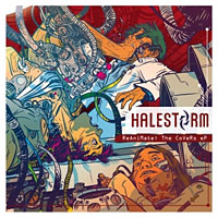Halestorm ReAniMate:The CoVeRs eP Album Cover