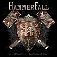 [Hammerfall Steel Meets Steel - Ten Years Of Glory Album Cover]