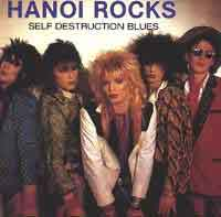 Hanoi Rocks Self Destruction Blues Album Cover