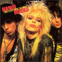[Hanoi Rocks Two Steps From The Move Album Cover]