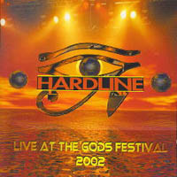 [Hardline Live At The Gods Festival 2002 Album Cover]