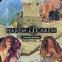 [Harem Scarem Live and Acoustic Album Cover]