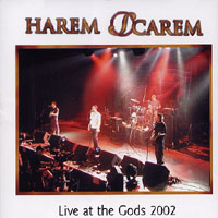 [Harem Scarem Live at the Gods 2002 Album Cover]