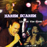 [Harem Scarem Live at the Siren Album Cover]