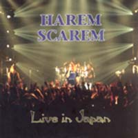 [Harem Scarem Live in Japan Album Cover]
