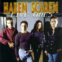 [Harem Scarem Live Ones Album Cover]