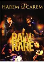 [Harem Scarem Raw And Rare: Live At Firefest IV Album Cover]