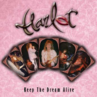 [Harlot Keep The Dream Alive Album Cover]