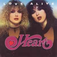 [Heart Love Alive Album Cover]