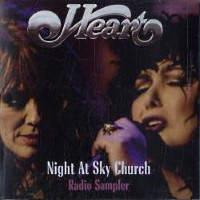 [Heart Night At Sky Church Radio Sampler Album Cover]