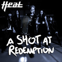 [H.E.A.T. A Shot At Redemption EP. Album Cover]