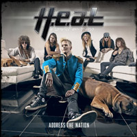 [H.E.A.T. Address the Nation Album Cover]