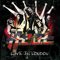 [H.E.A.T. Live in London Album Cover]