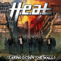 [H.E.A.T. Tearing Down The Walls Album Cover]