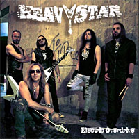 Heavy Star Electric Overdrive Album Cover