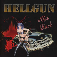 [Hellgun Miss Black Album Cover]