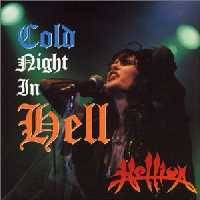 [Hellion Cold Night in Hell Album Cover]