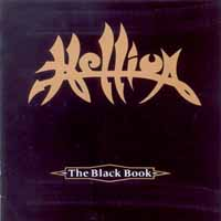 [Hellion The Black Book Album Cover]