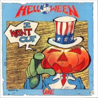 [Helloween I Want Out - Live Album Cover]