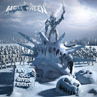 [Helloween My God-Given Right Album Cover]