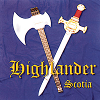 [Highlander Scotia Album Cover]