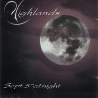 [Highlands September 5th, At Night Album Cover]