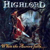 [Highlord When The Aurura Falls... Album Cover]