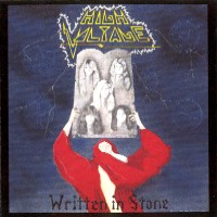 [High Voltage Written In Stone Album Cover]