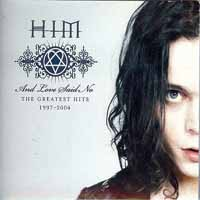 HIM And Love Said No - The Greatest Hits 1997 - 2004 Album Cover