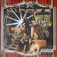 [Hinder Welcome to the Freakshow Album Cover]