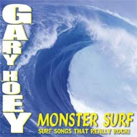 [Gary Hoey Monster Surf (Surf Songs That Really Rock) Album Cover]