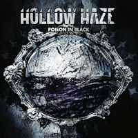 [Hollow Haze Poison In Black Album Cover]