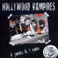 [Hollywood Vampires 4 Jacks And 1 Coke Album Cover]