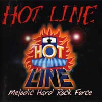 Hot Line Melodic Hard Rock Force Album Cover