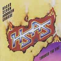 [H.S.A.S. Through the Fire Album Cover]