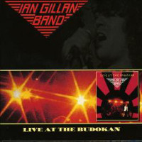 Ian Gillan Band Live At The Budokan Album Cover
