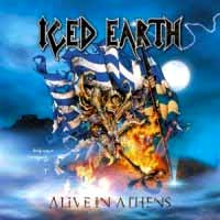[Iced Earth Alive In Athens Album Cover]